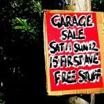 10 Tips to a Wildly Successful Garage Sale