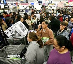 Black Friday at Walmart