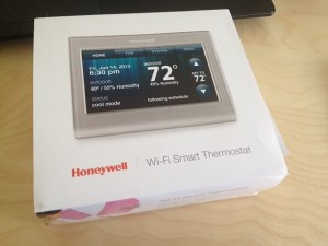 honeywell thermostat box